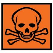 Hazard safety sign - Toxic-Harmful 070
